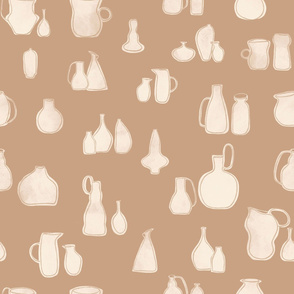 Pottery - Beige & Cream