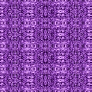 CML8 - Small - Crystallized Mineral Landscape in Purple  Monochrome