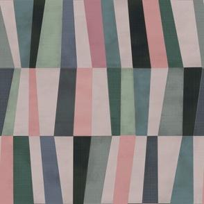 Harlequin patchwork -Amethyst (medium)