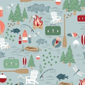 White Floral Frenzy - Small Scale