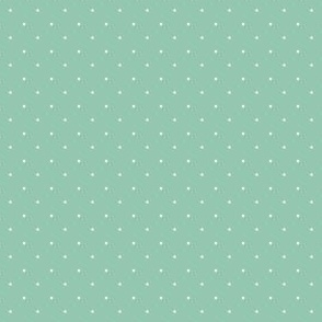 micro | green with  white dots | puppy background