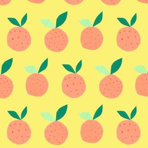 Orange on Lemon - jumbo