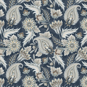 Paisley | Naval (2021 Sherwin Williams - Encounter Palette Coordinate)