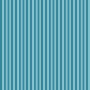 Verdigris Teal Stripe