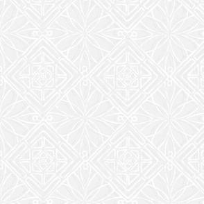 Hawaiian Quilt White On White