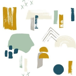 Bohemian Abstract Swashes