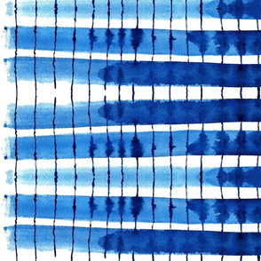 cestlaviv_kitchen stripes blue