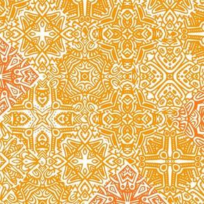 Scatter Tile//Orange//Large Scale
