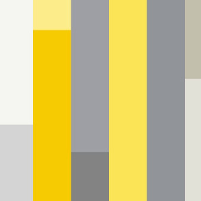 Retro Linear Yellow, Grey & Pink geometry