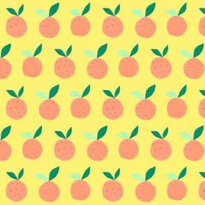 Orange on Lemon - small-scale