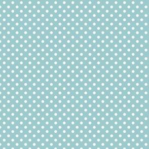 Polka Dots   Embellished Blue  (2021 SW - Tapestry Palette Coordinate)