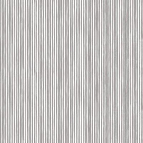 Vertical Watercolor Mini Stripes M+M Concrete by Friztin