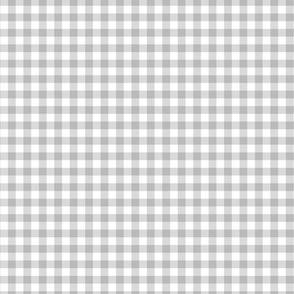 Boho plaid minimalist check pattern ultimate gray white easter summer SMALL