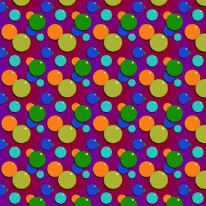 Psychedelic Bubbles Small Print