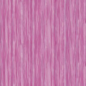 Vertical Watercolor Mini Stripes M+M Beet by Friztin