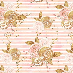 Rose Gold Glitter Small Scale