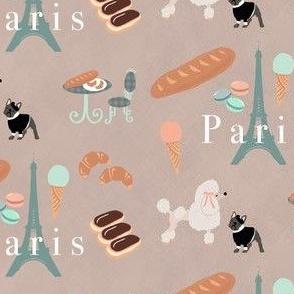 Pups and Pastries in Paris