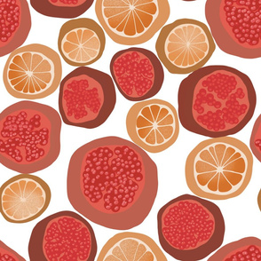 _Orange_And_Garnet_On_White