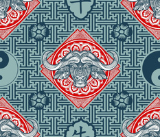 The Ox (Animal of the Chinese Horoscope 2021)