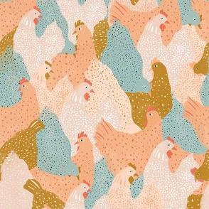 Chicken Pattern   Regular