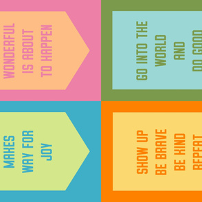 Banner Set: Candy Colors