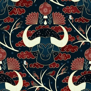 Strength and Determination, Ox, Yang