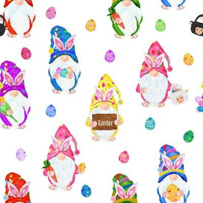 Easter Bunny Gnomes