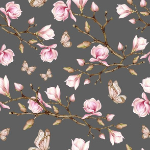 blossom butterfly dary grey