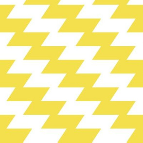 Modern Kilim - illuminating yellow and white