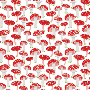 Magical Toadstools  (Pink) - Large Scale