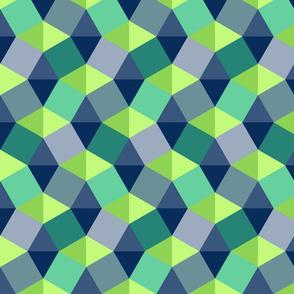 Geometric Greens and Blues
