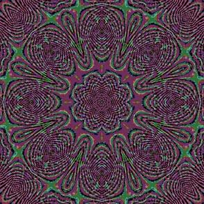plum fractal illusion