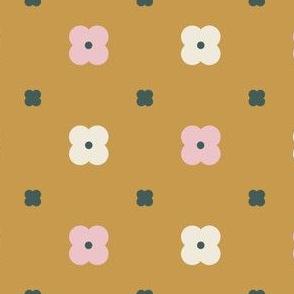 Poppy Flower-ochre