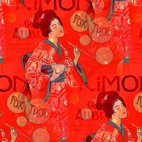 Kimono Fox Trot