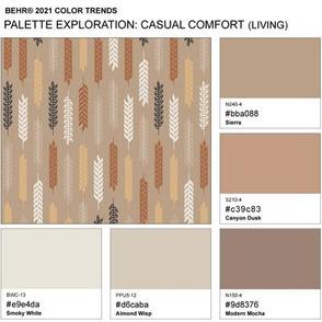 Palette Exploration: Behr 2021 Casual Comfort