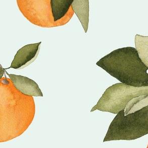 Orange Blossom Mint Large