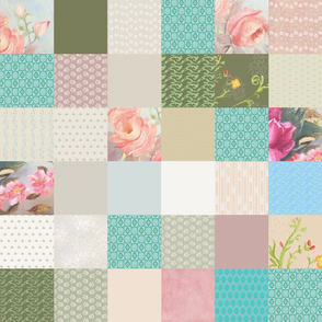 Grannys Quilt 3 inch squares