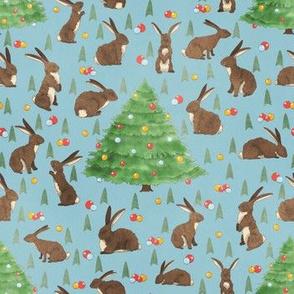 Christmas Bunny Rabbits  (Christmas Bunnies Collection)