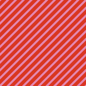 Diagonal stipes