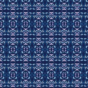 Spanish tile in blue