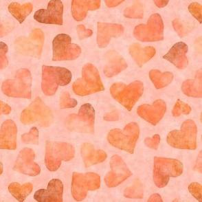 Tender Hearts on Blush