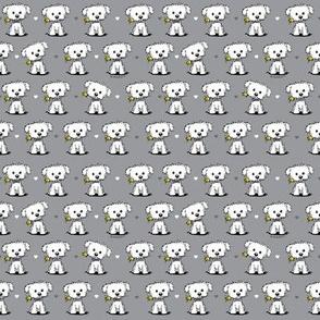 KiniArt Maltese Pantone Puppies