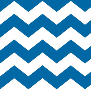 chevron lg royal blue