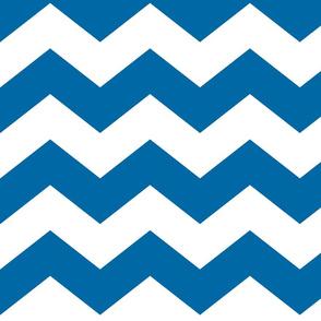chevron lg royal blue