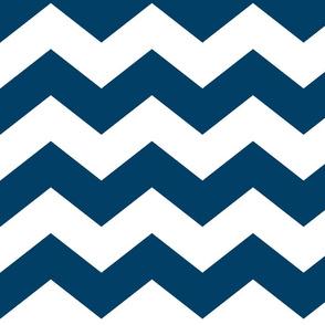 chevron lg navy blue