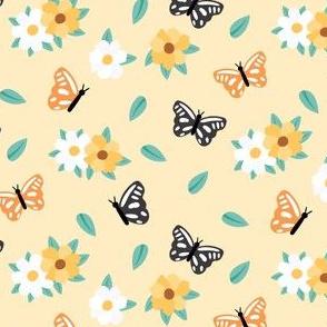 Spring butteflies