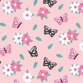 Pink-butterflies