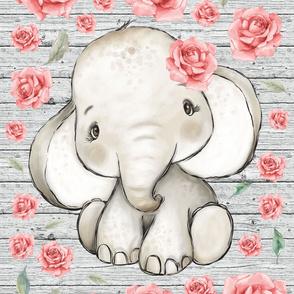 26x36 elephant blanket