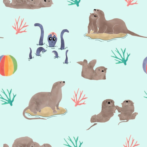 otterly watercolor