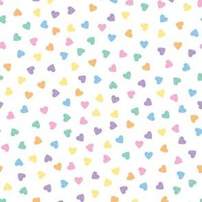 Kawaii Pastel Candy Hearts (Faces)